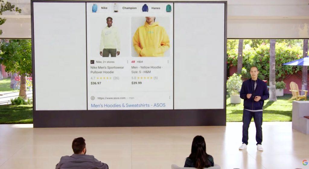 谷歌增加将网站的照片变成可购物的产品新模式